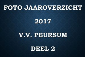 Foto jaaroverzicht v.v.Peursum deel 2